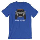 Silver 5th Gen 4Runner Shirt - Add your own text