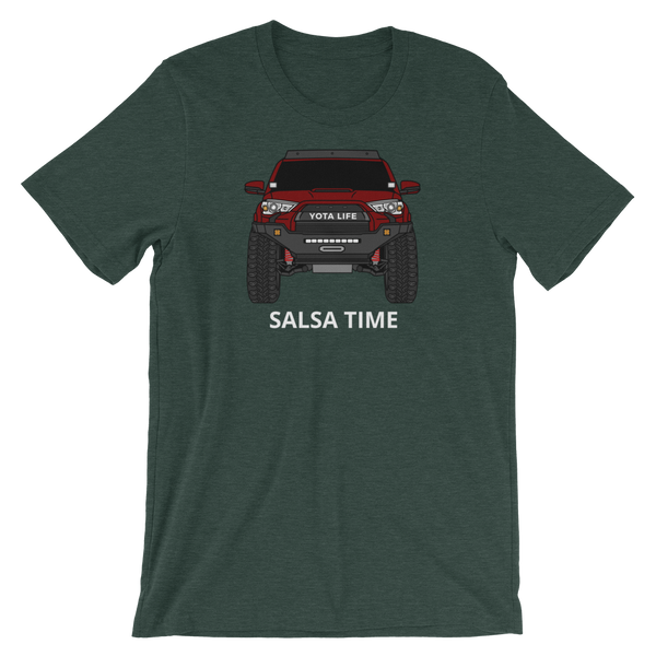 Salsa Red Gen5 4Runner - Add your own text