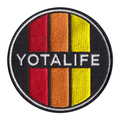 Retro Round Yota Life Patch