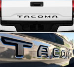 Tacoma Tailgate 3D letter badge