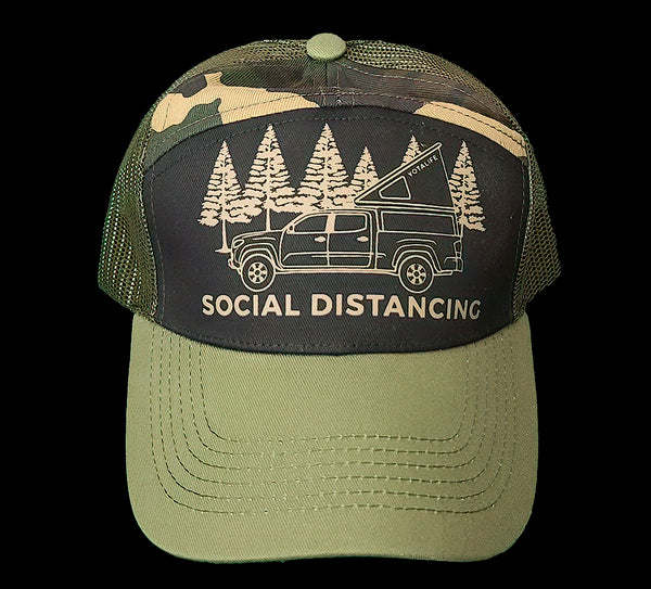 Social Distancing Trucker Hat