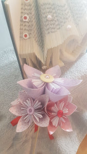 M♡M Bookfold with Bouquet