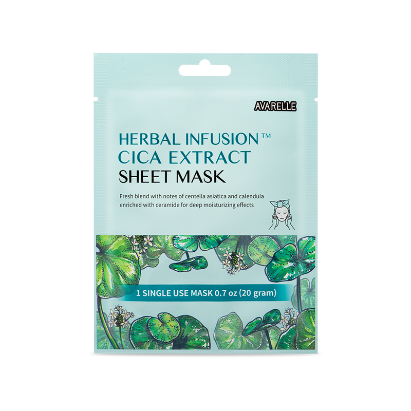 CICA SHEET MASK (12-Pack)