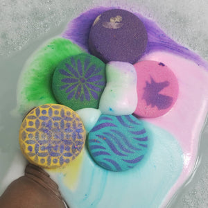 Rainbow Tart Bath Bomb