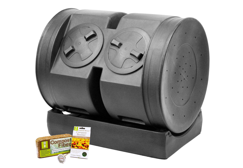 Composter - Good Ideas | Compost Wizard Dual Senior Starter Kit
