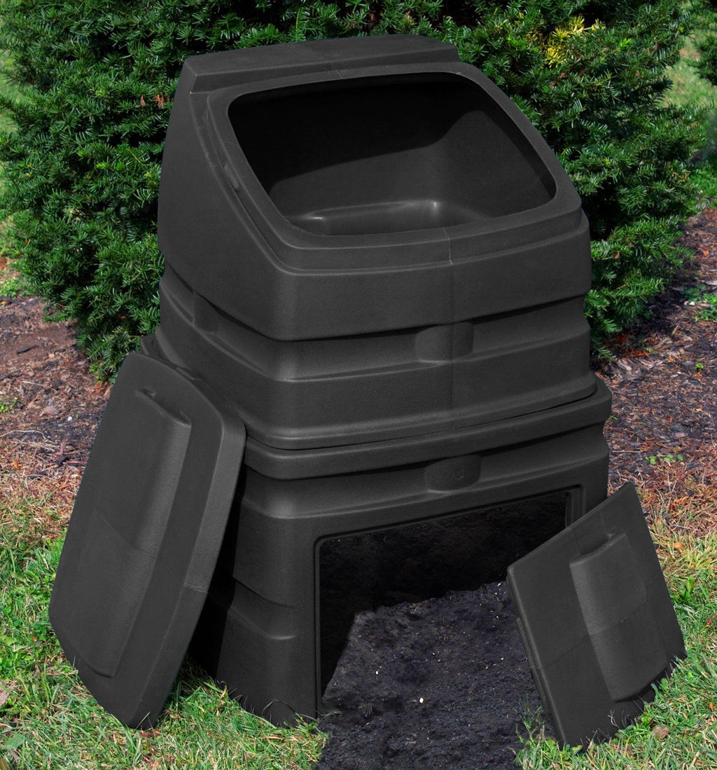 Composter - Good Ideas | Compost Wizard Standing Bin Black