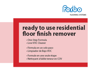 Open image in slideshow, Flooring | Finish - Forbo | Ready To Use Residential Floor Finish Remover