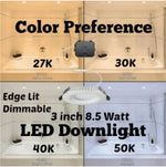 Load image into Gallery viewer, Lighting | Indoor - ETi | Color Preference Recessed Retrofit Downlight Kits