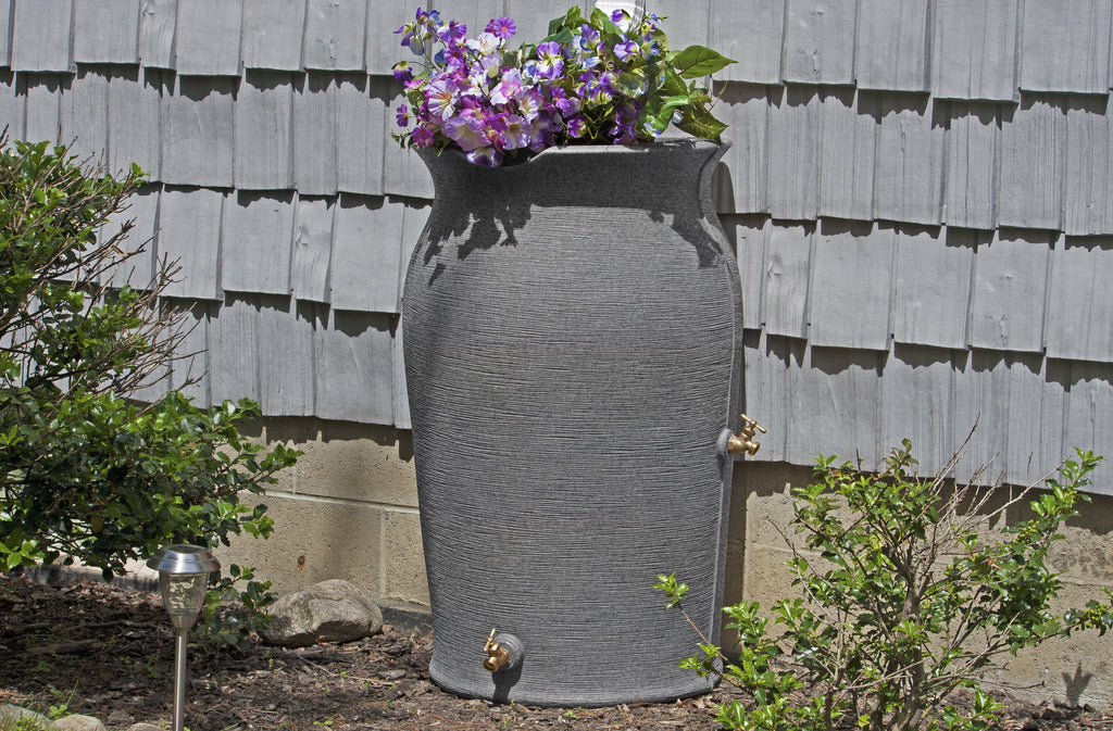 Rain Barrel - Good Ideas | Impressions Amphora Rain Saver