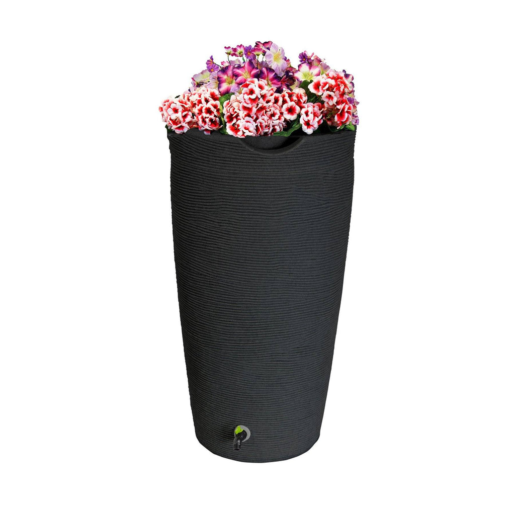 Rain Barrels - Good Ideas | Eco Line Impressions Stone