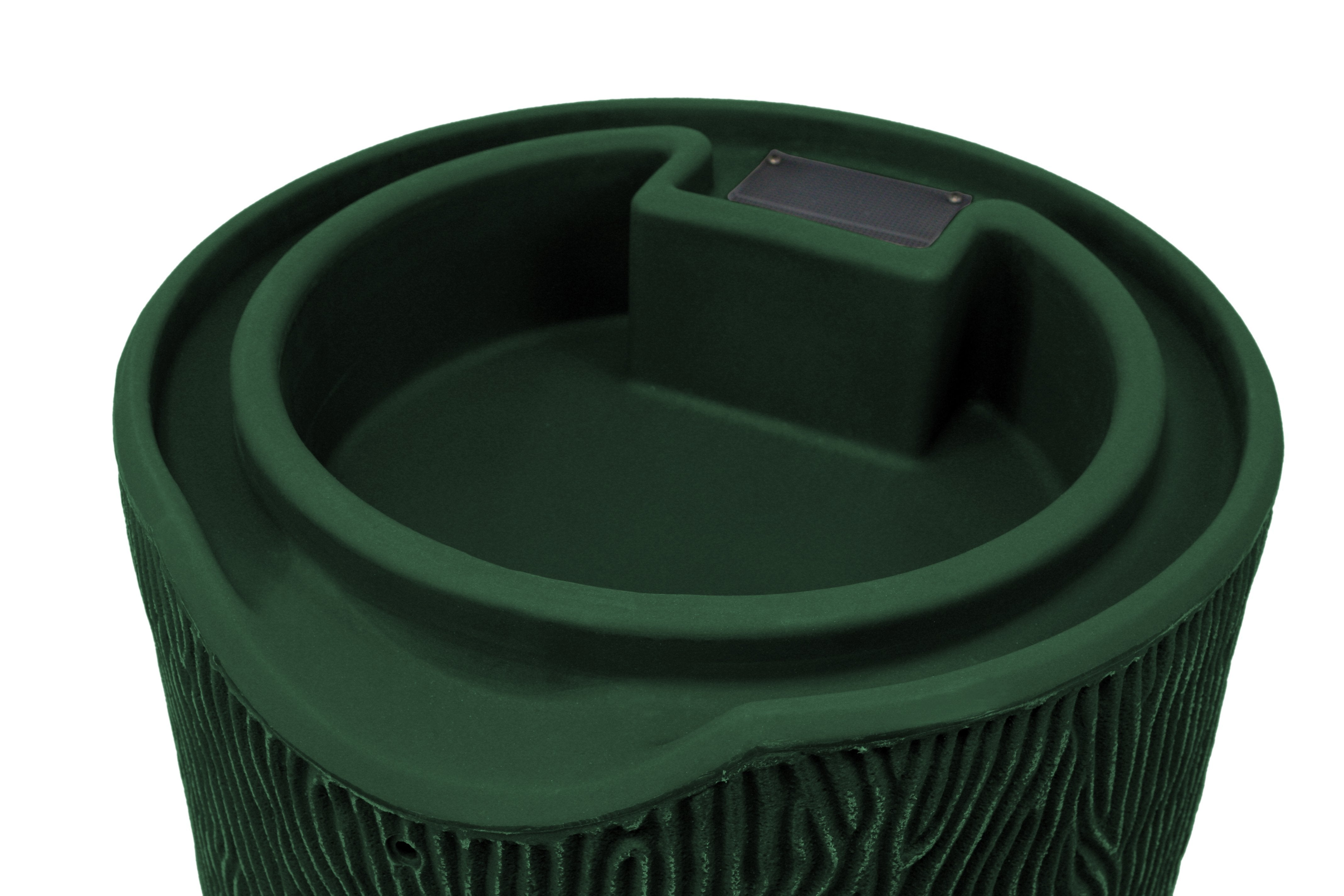 Rain Barrels - Good Ideas | Impressions Bark 50 Gallon Rain Saver