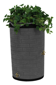 Rain Barrels - Good Ideas | Impressions Downton 50 Gallon Rain Saver DR
