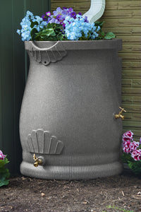 Rain Barrels - Good Ideas | Rain Wizard Urn 2 Spigots 50 Gallon