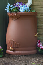 Load image into Gallery viewer, Rain Barrels - Good Ideas | Rain Wizard Urn 2 Spigots 50 Gallon