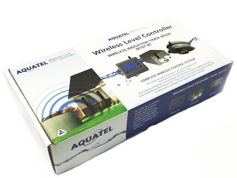 Water Management | Pump Controller - Aquatel | M107-BT Wireless Pump Controller LCD