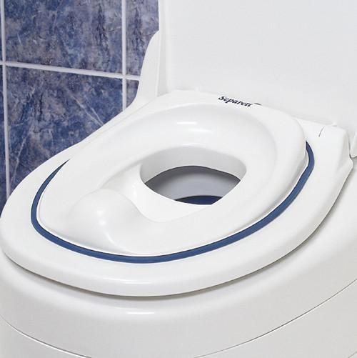 Waterless Toilet | Add-on - Separett | Child Seat, Urine Diverting