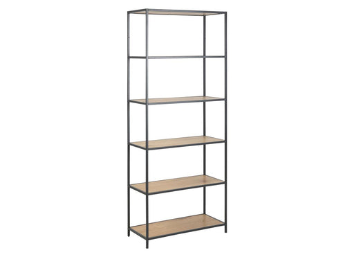 Seaford Book case 4 shelves S | Oak