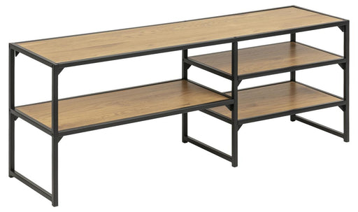 Seaford TV 3 shelves | Wild Oak