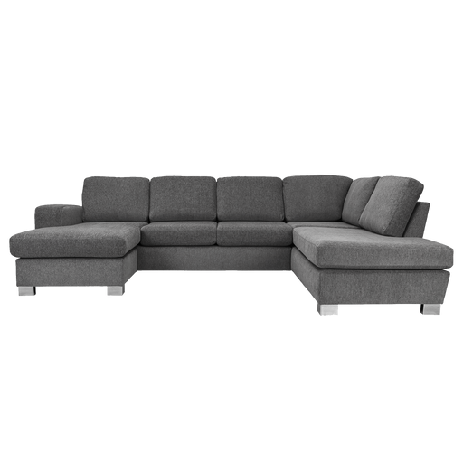 Bellatrix Left Hand  U-Sofa | Grey