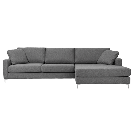 Delta Sofa with Chaise Right | Grey