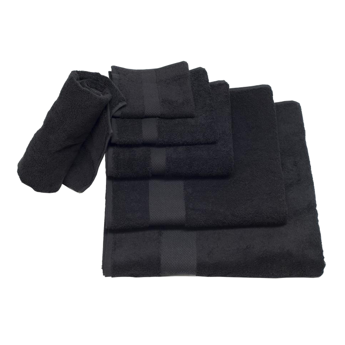 Spa Towels | Black
