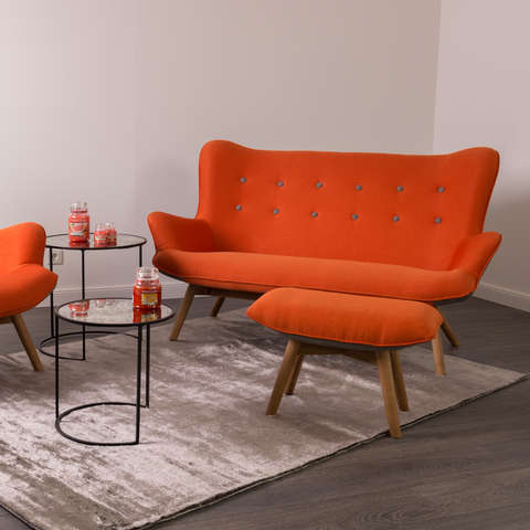 Tango Sofa 2 Seater | Orange