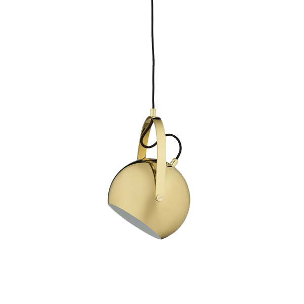 Ball Handle Pendant | Brass