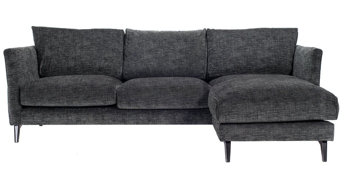 Weekend Sofa with Chaise | Black