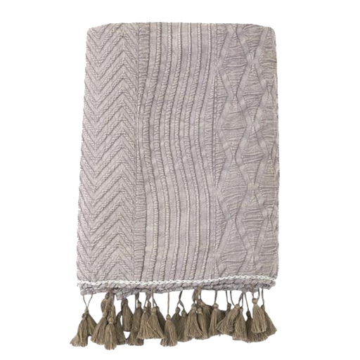 Jakobsdals Knitted Throw | Grey