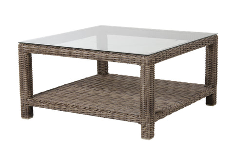 Oslo rustic table | Natural & Glass