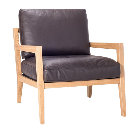 Diana Chair | Brown, Leather