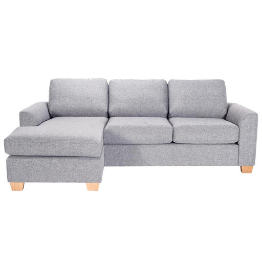 Easy Sofa with Chaise | Light Grey