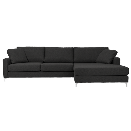 Delta Sofa with Chaise Right | Antrazit