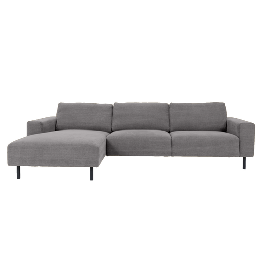 Angelina Sofa with Chaise Left | Grey
