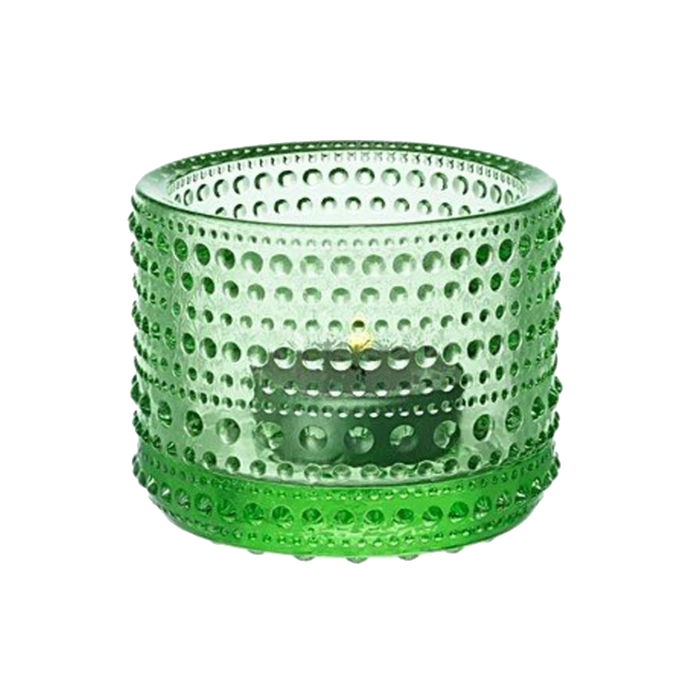 Iittala Kastehelmi Candle Holder | Apple Green