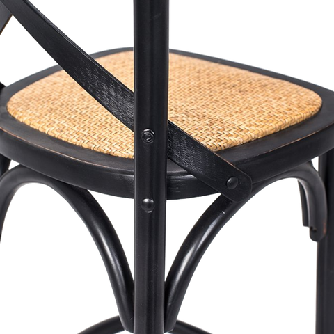 Nisab Barstool | Black, Birch