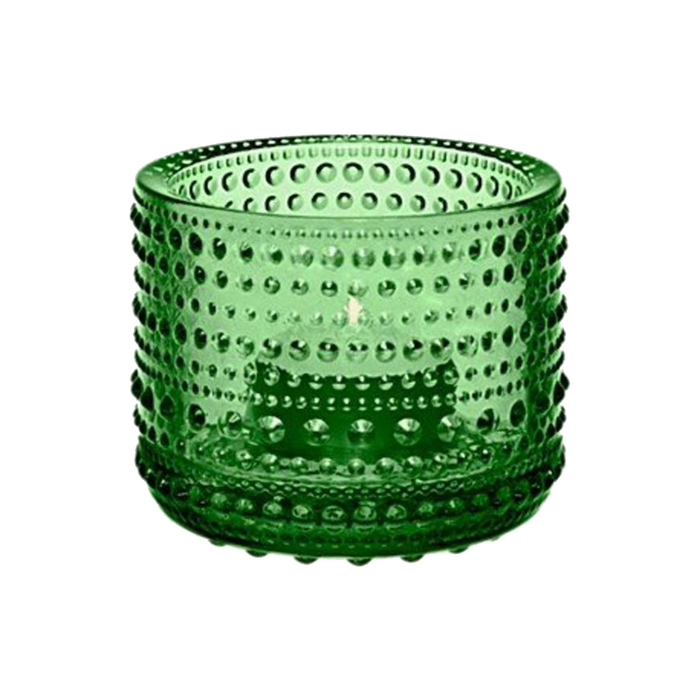 Iittala Kastehelmi Candle Holder | Green