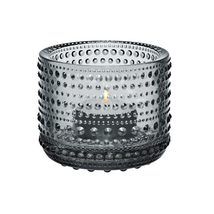 Iittala Kastehelmi Candle Holder | Grey