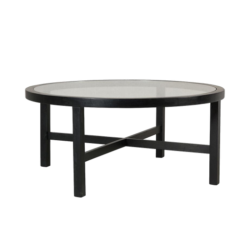 Midsomer Coffee Table Round, Black