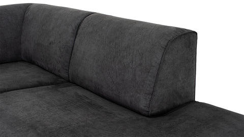 Murcia Sofa Right Chair | Graphite