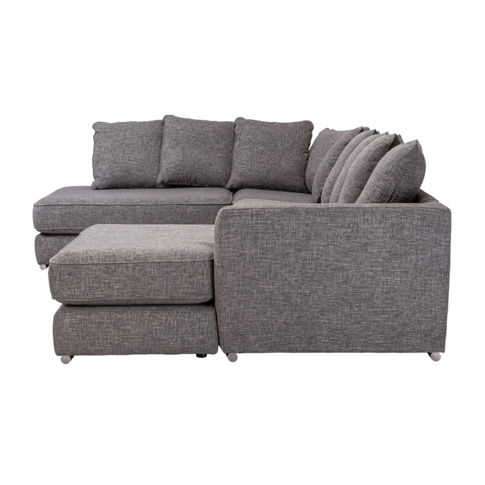 Beta Left Hand Modular Sofa | Grey