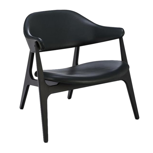 Span Chair | Black Leather