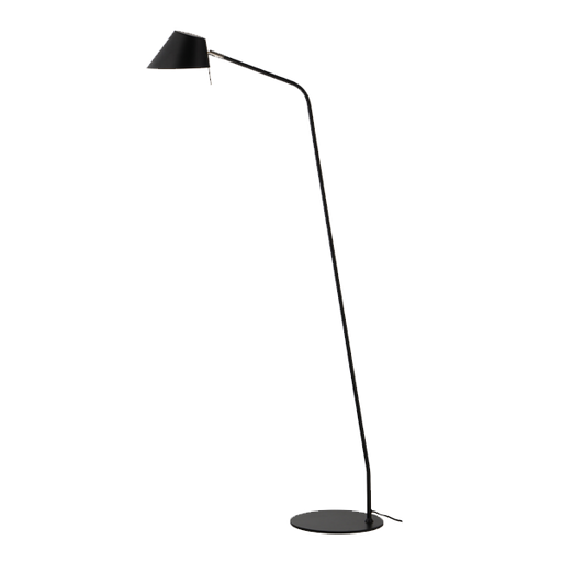 Office Floor Lamp | Black