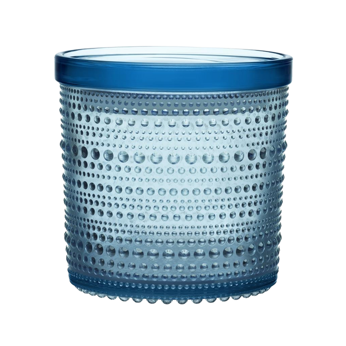 Iittala Kastehelmi Jar | Blue, Large