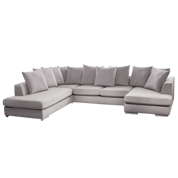 Paso Doble Night Modular Sofa with Chaise | Light Grey