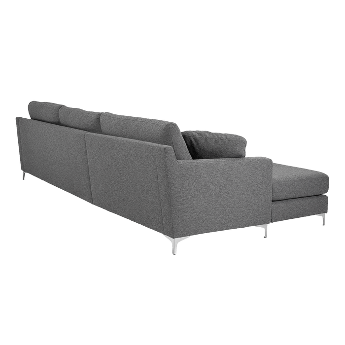 Delta Sofa with Chaise Left | Grey