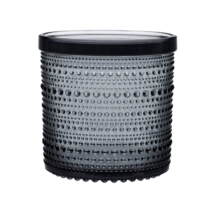 Iittala Kastehelmi Jar | Grey, Large