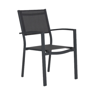 Lotus Dining Chair | Matt Black