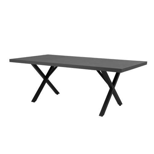 Weldon Outdoor Table | Grey, Black
