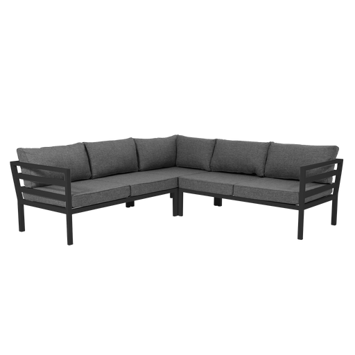 Weldon Outdoor Modular Sofa | Grey, Black